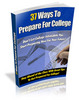37 Ways To Prepare For College - Getting A Headstart