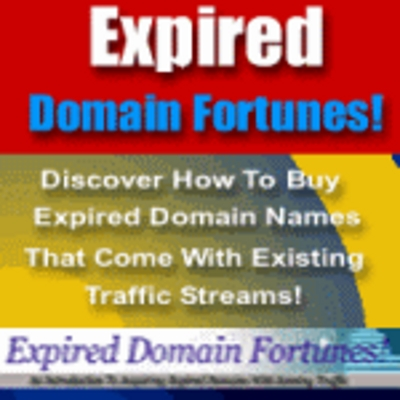 Product picture Expired Domain Fortunes - Make Profits Targeted Traffic