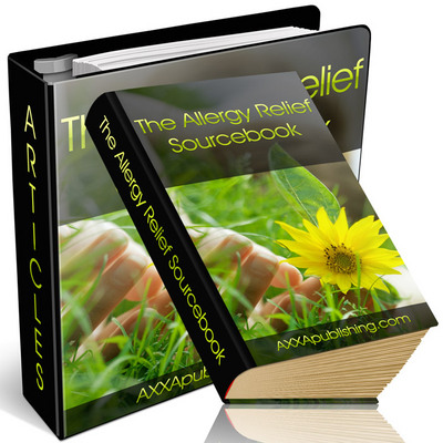 Product picture The Allergy Relief Sourcebook - Become Problem Free