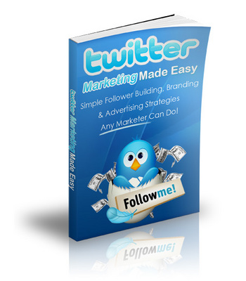 Product picture Marketing With Twitter - Simple And Easy